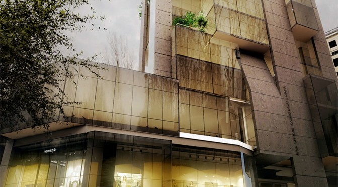 Persis Commercial & Office Tower / Shahab Alidoost, Sona Eftekharazam