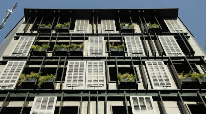 Alvand Office Building Facade Renovation / Shahab Alidoost, Sona Eftekharazam