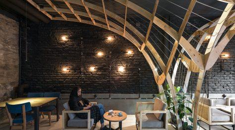 Bobo Cafe & Restaurant / Adib Khaeez, Ramtin Taherian