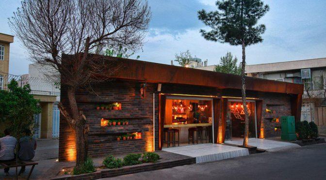 Triangle Cafe / Ashari Architects