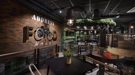 Address Food Hall / Zomorrodi & Associates