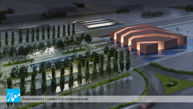 مسجد و میدان (پلازا) گلشهر کرج / دفتر طراحی معماری نگرش بنیادین
