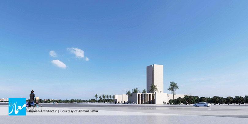 مسجد و میدان (پلازا) گلشهر کرج / احمد صفار