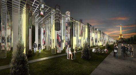 Paris Peace Pavilion / Mohsen Kafaei, Mohsen Garshasby, Masih Fazile